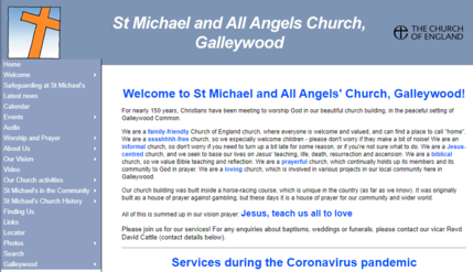 St Michaels and All Angels Website